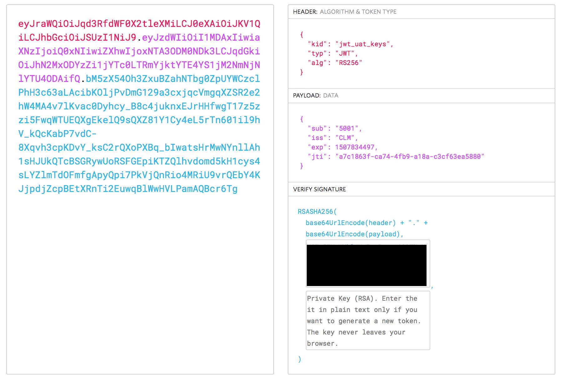 Error Domain=io jwt Code=-97
