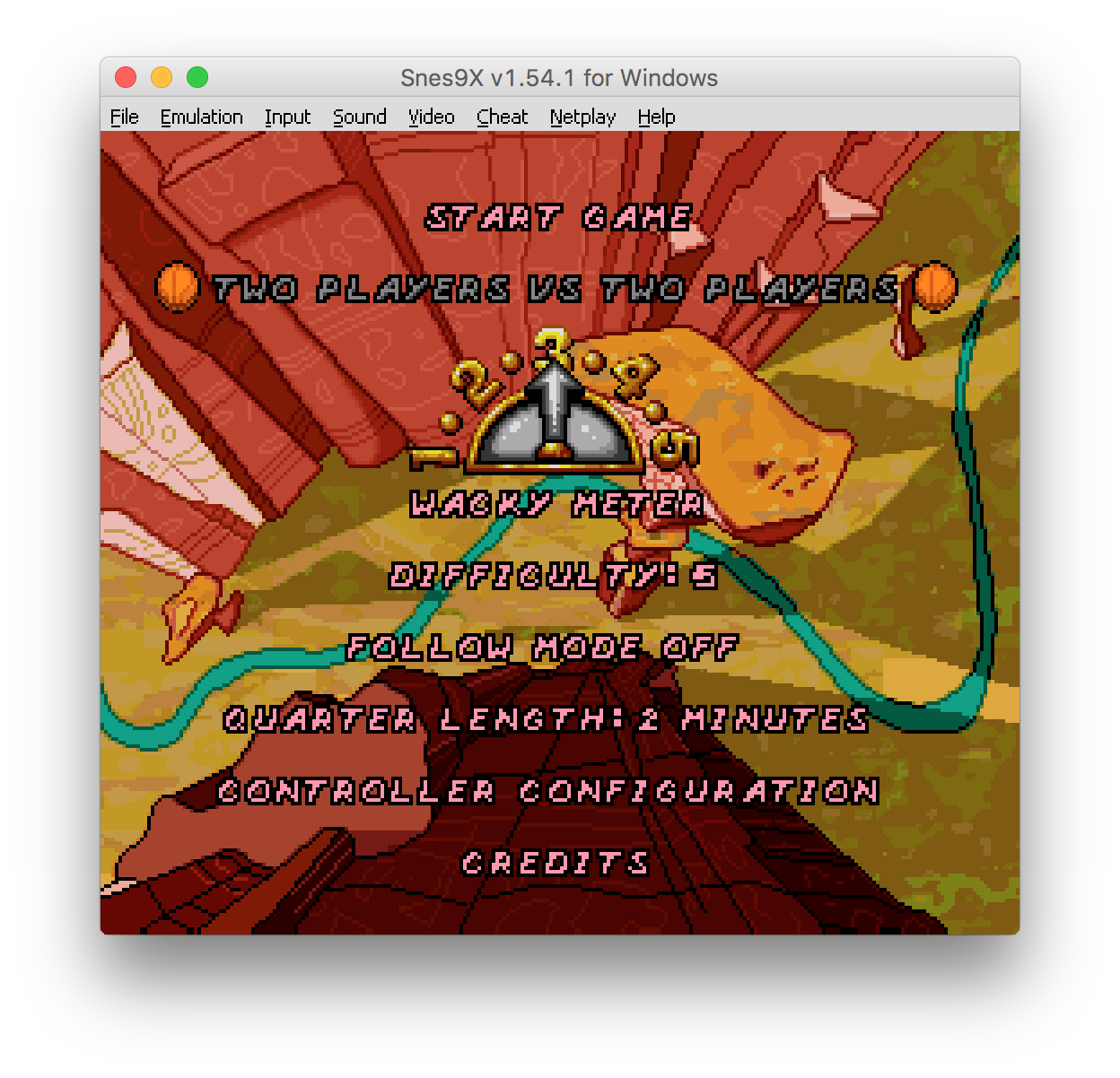 Looney Tunes B-Ball (USA) multitap not recognized until reset