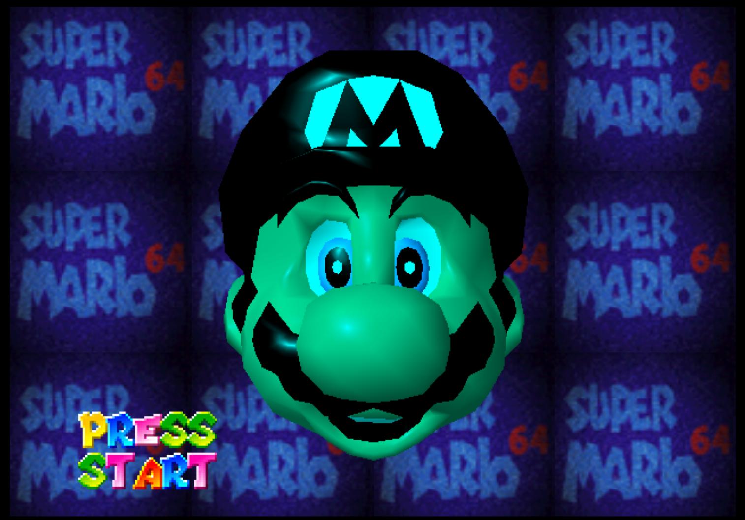 Super Mario 64 - green textures on Intel Iris Pro GPU