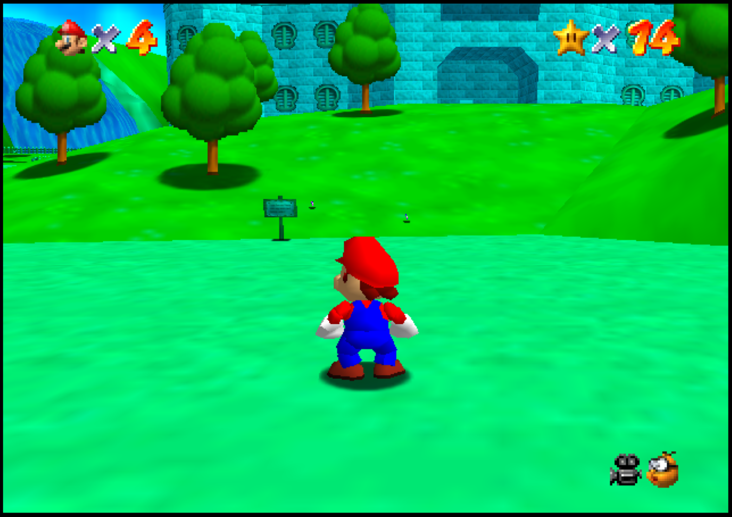 Super Mario 64 - green textures on Intel Iris Pro GPU