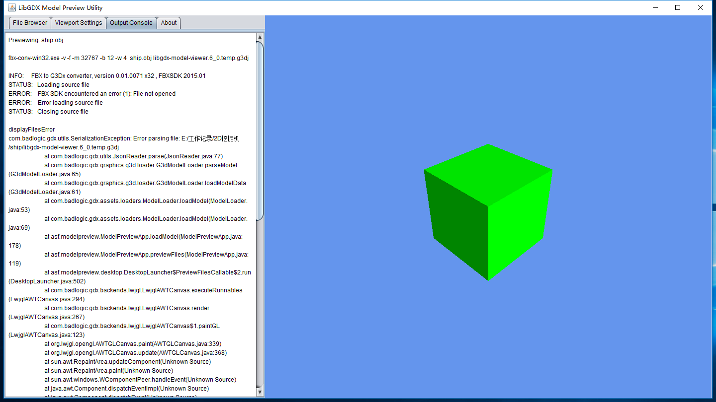 Can't load any file · Issue #97 · libgdx/fbx-conv · GitHub
