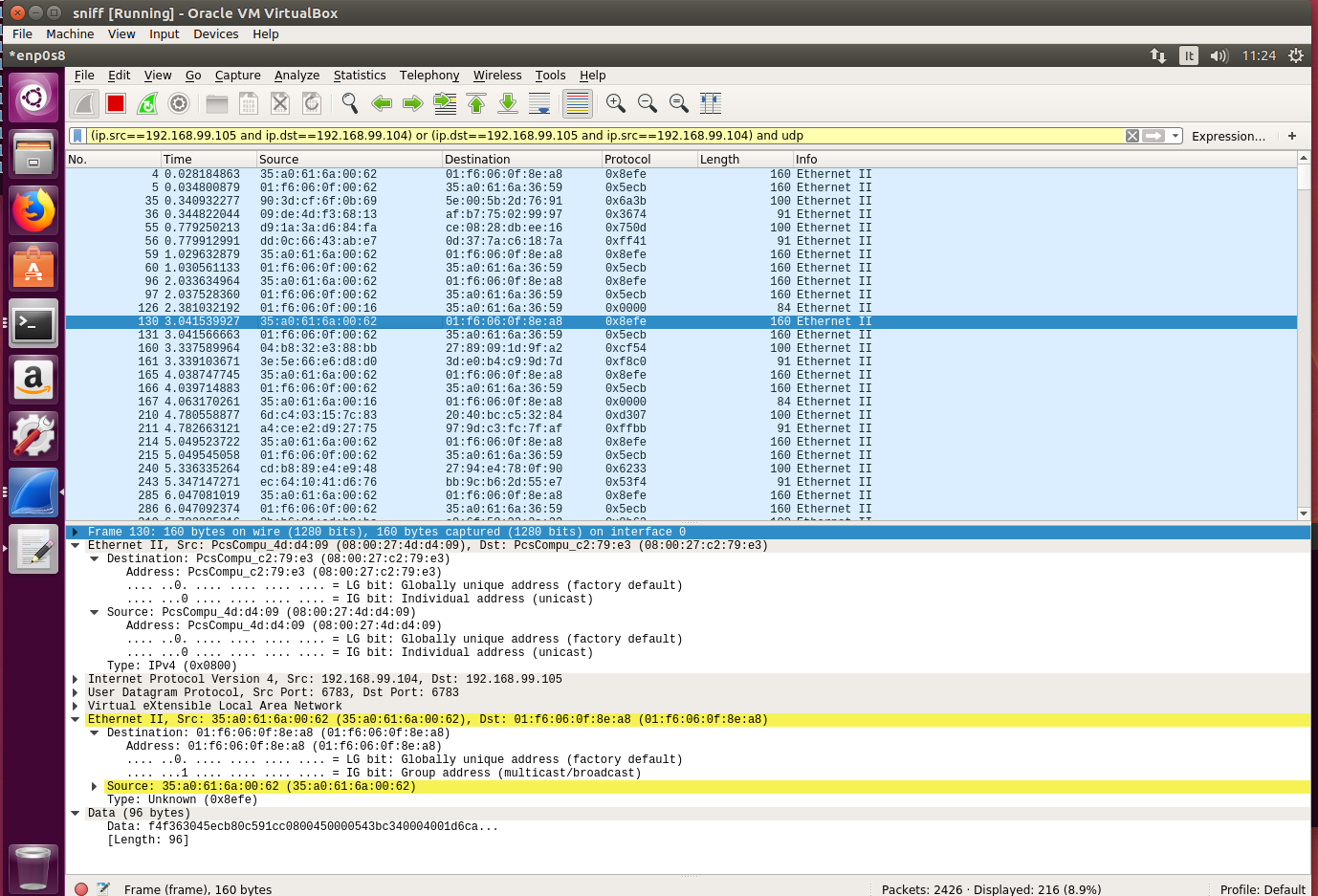Weavenet vxlan packet with Wireshark · Issue #3225