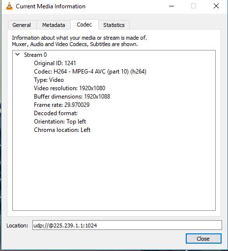 Transmux MPEG-2 TS packets via websocket from multicast UDP