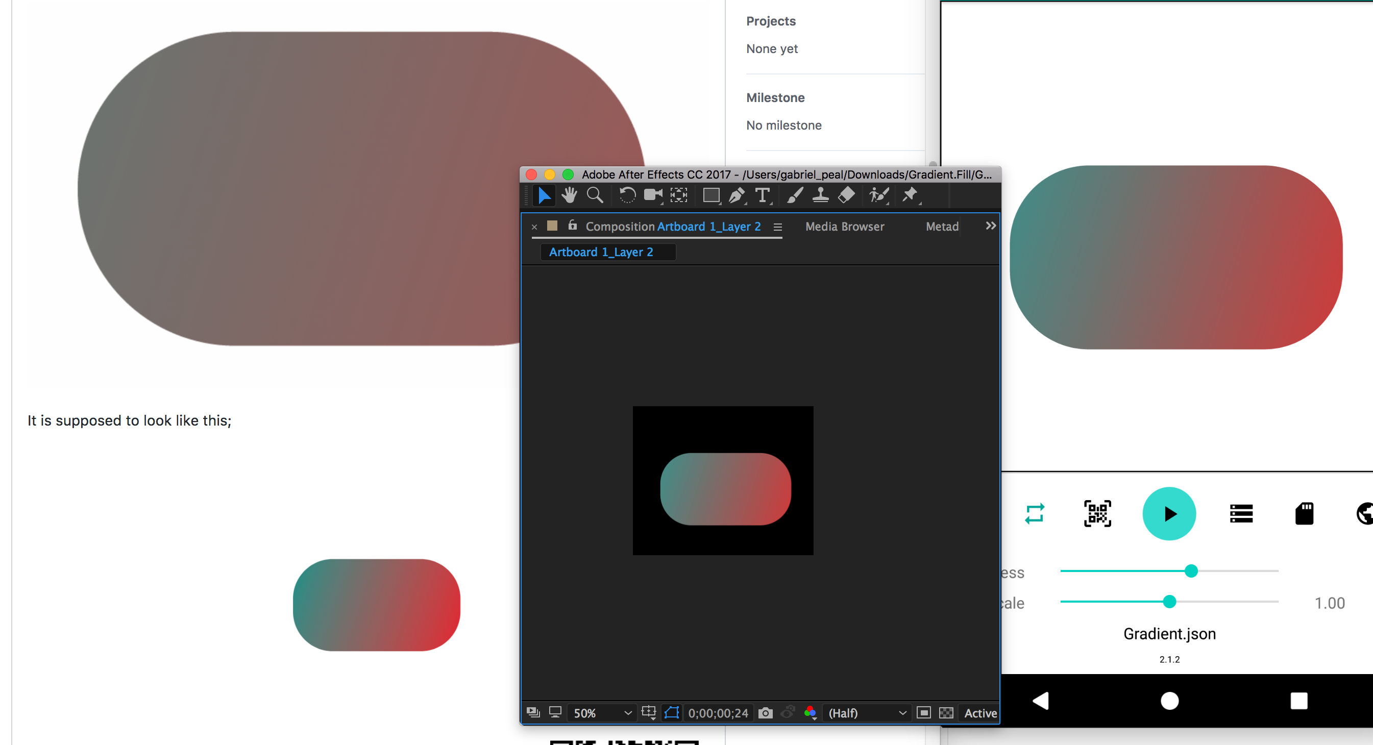 Gradient Fill Issue · Issue #407 · airbnb/lottie-android