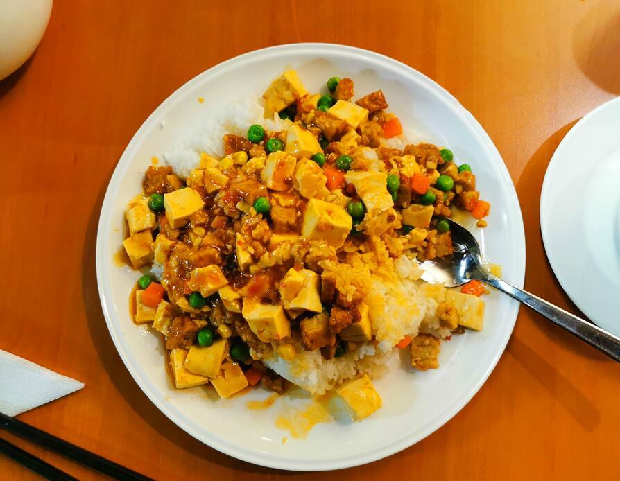 麻婆豆腐饭