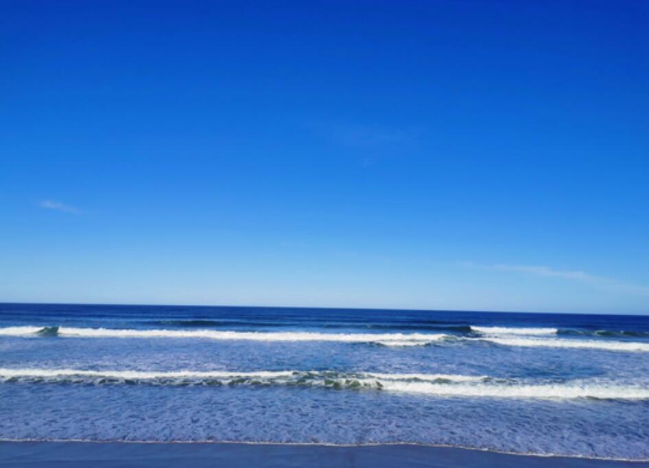 悠长的海岸线