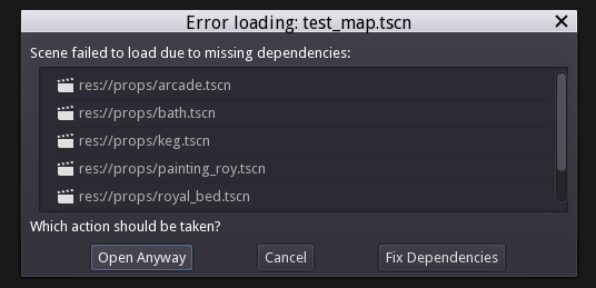 Moving a folder doesn't remap any path, which breaks all