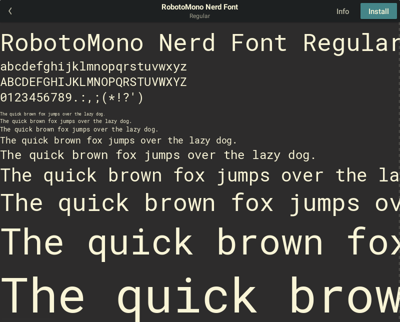 nerd-fonts - Bountysource