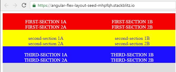 All the design is broken · Issue #865 · angular/flex-layout