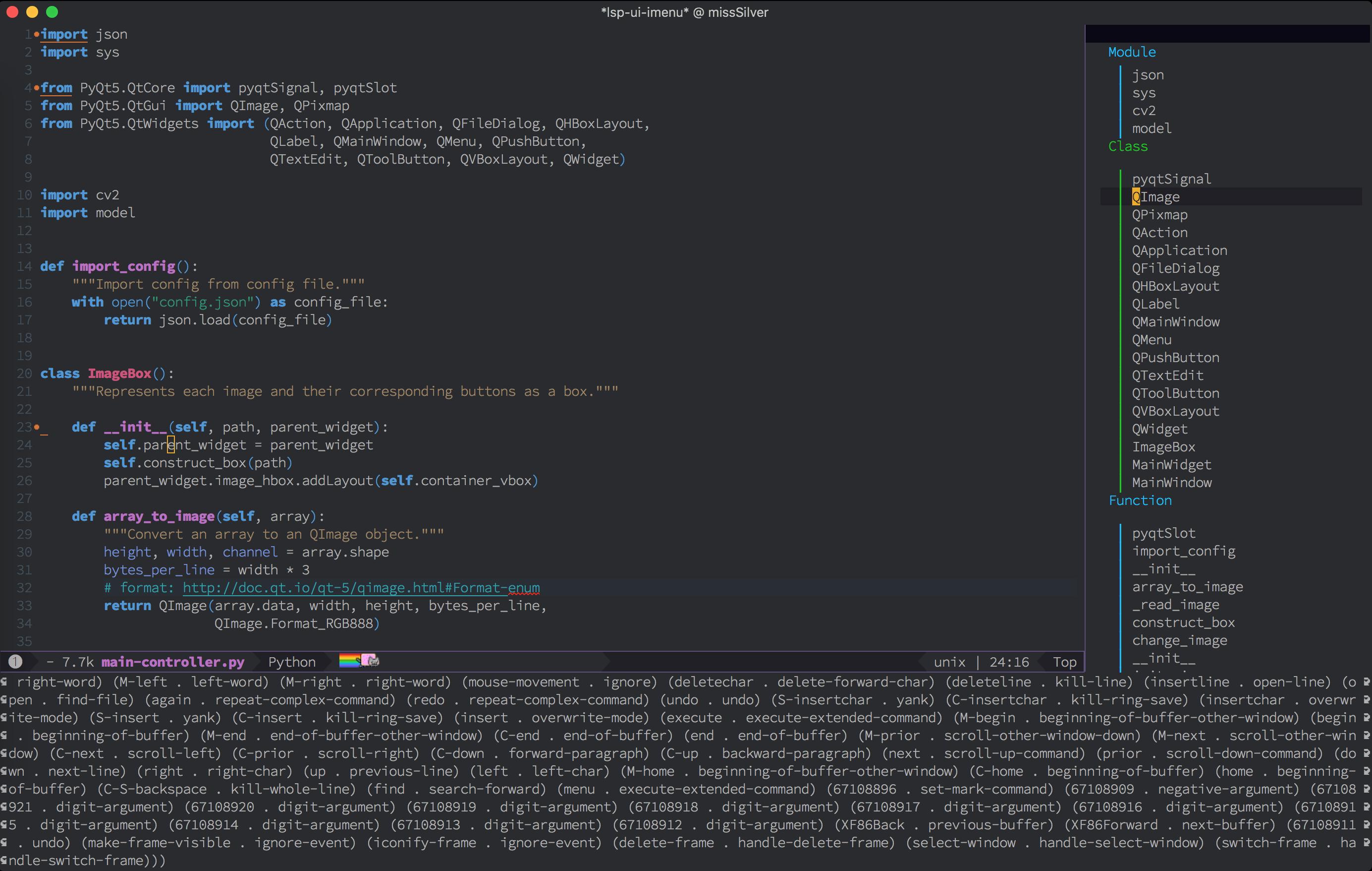 imenu buffer not using menu-mode-map · Issue #70 · emacs-lsp