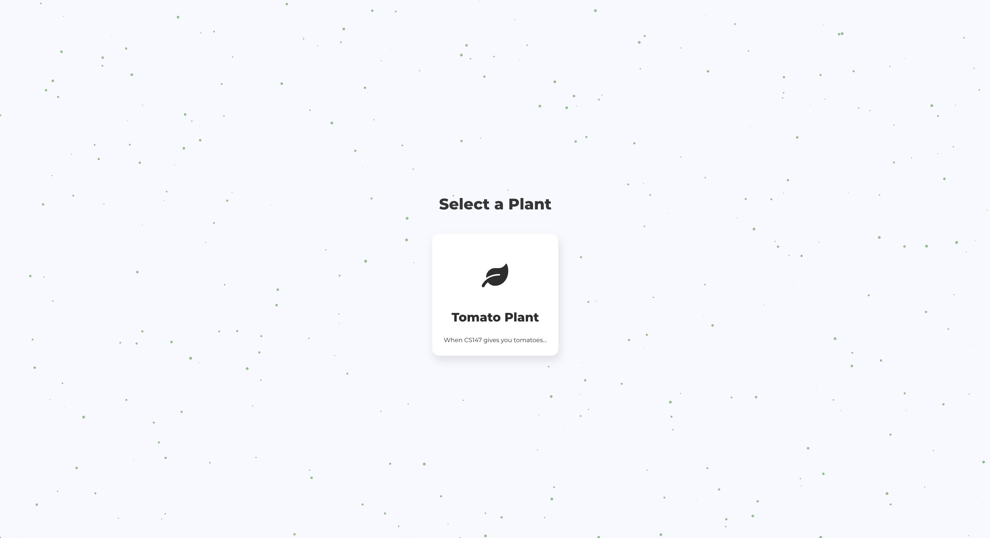 SelectPlant