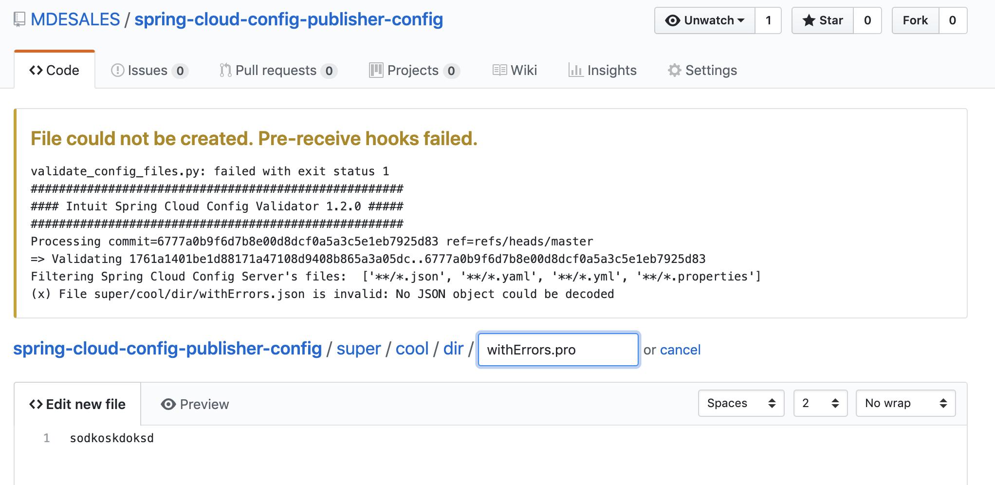 GitHub - intuit/intuit-spring-cloud-config-validator