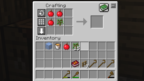 Harvest Craft Can T Craft Saplings