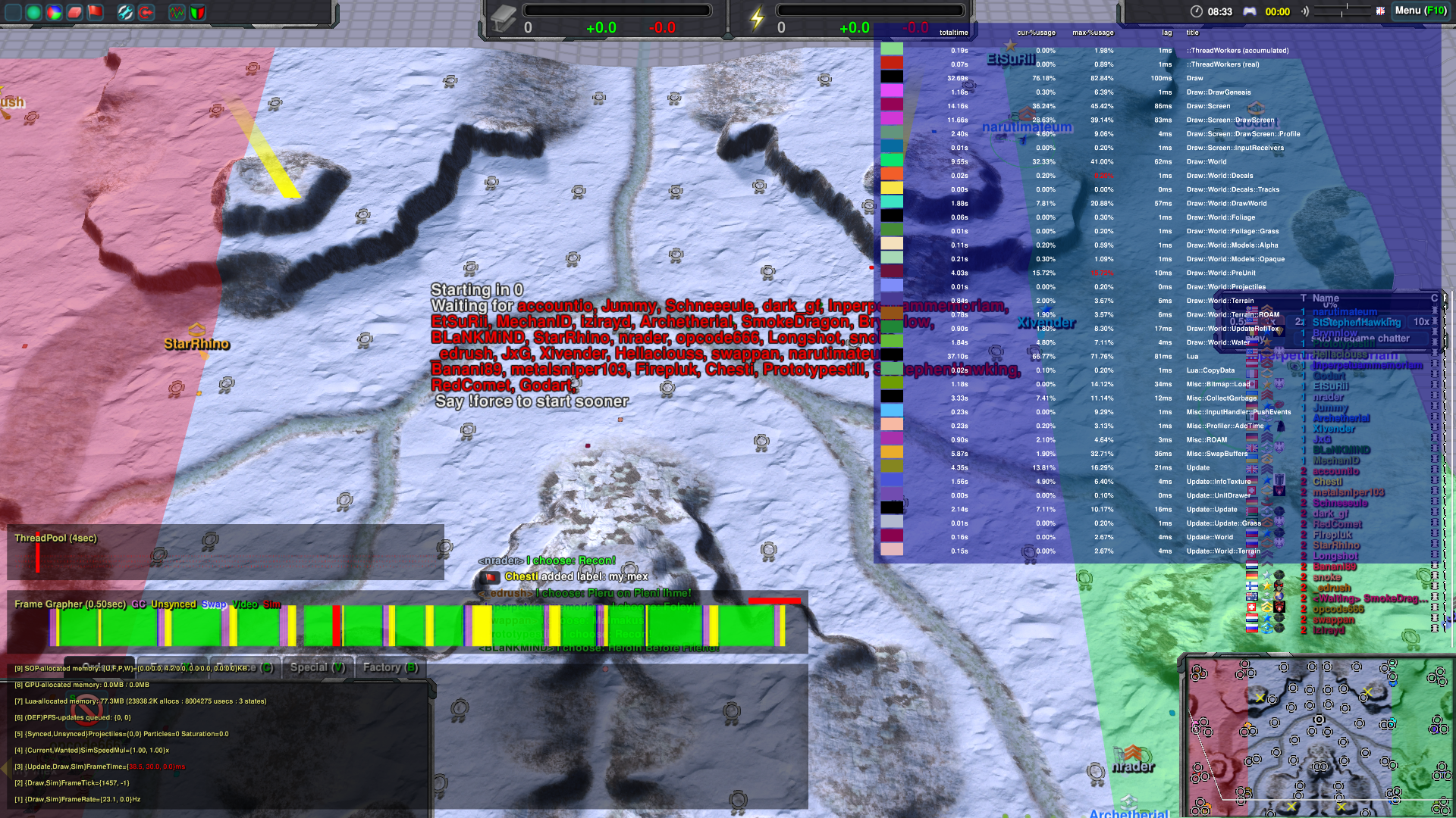 Performance issue for a player · Issue #3468 · ZeroK-RTS