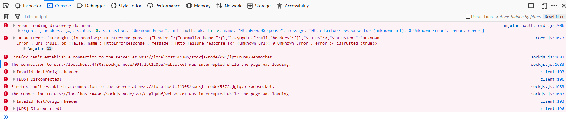 Error loading discovery document Angular 6 0 3 · Issue #335