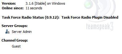 Teamspeak 3 not enabling TFAR plugin · Issue #1313 · michail