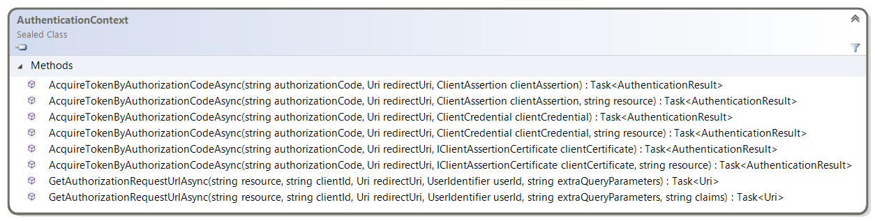 Acquiring tokens with authorization codes on web apps · AzureAD