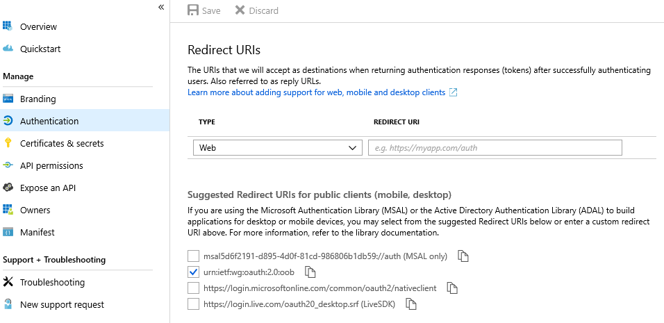 Client Applications · AzureAD/microsoft-authentication