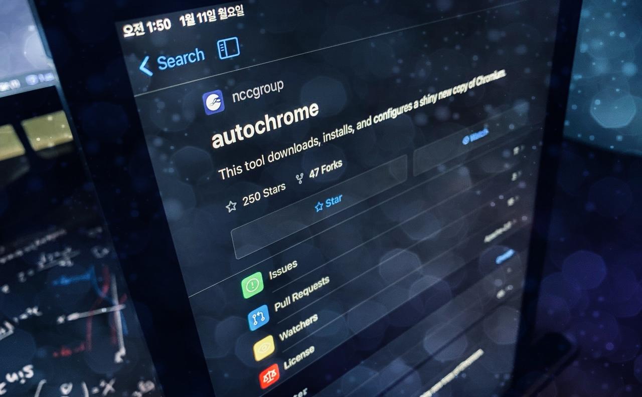 Autochrome - 빠르게 보안 테스트용 웹 브라우저 환경을 구성하자!