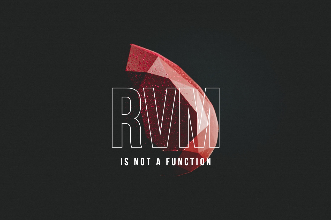 Featured image of post rvm is not a function 에러 해결하기