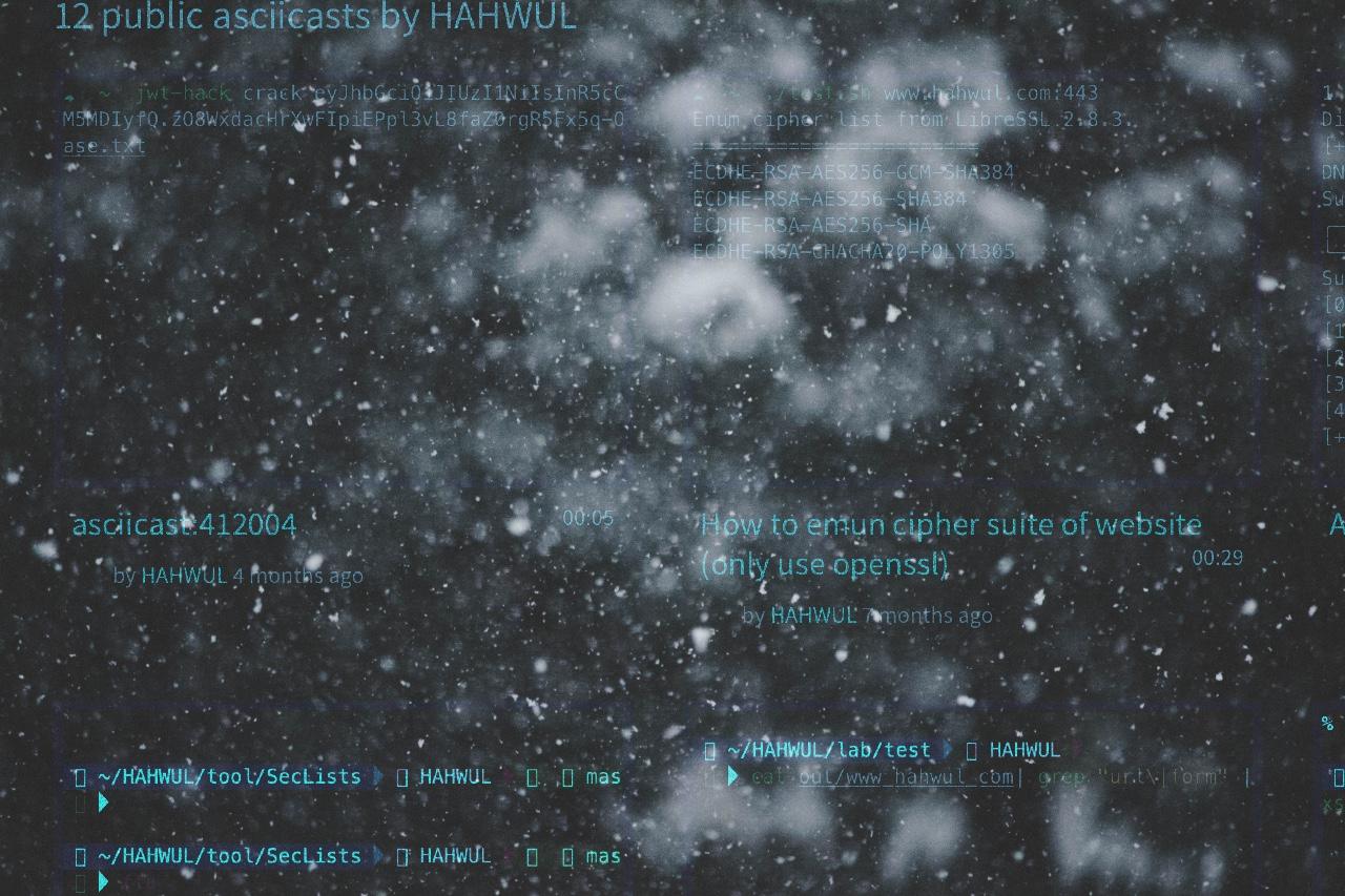 Featured image of post Asciinema Shortcode in Hugo