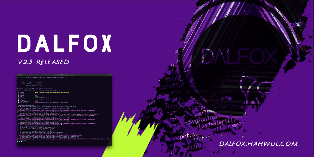 Featured image of post Dalfox 2.5 Released 🚀