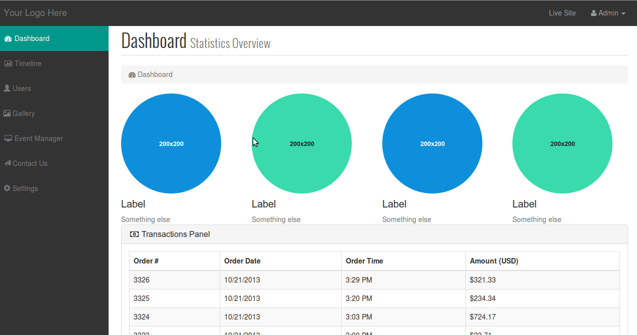 admin-dashboard-ph4social