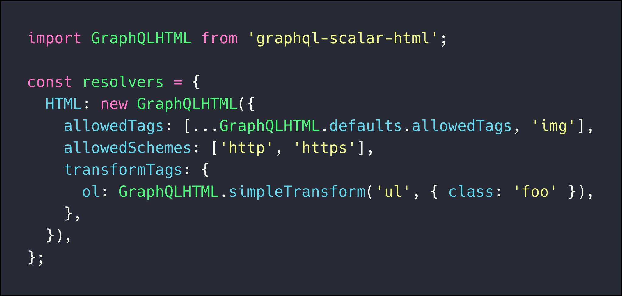 graphql-scalar-html