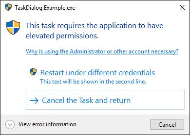 Windows Task Dialog · Issue #146 · dotnet/winforms · GitHub