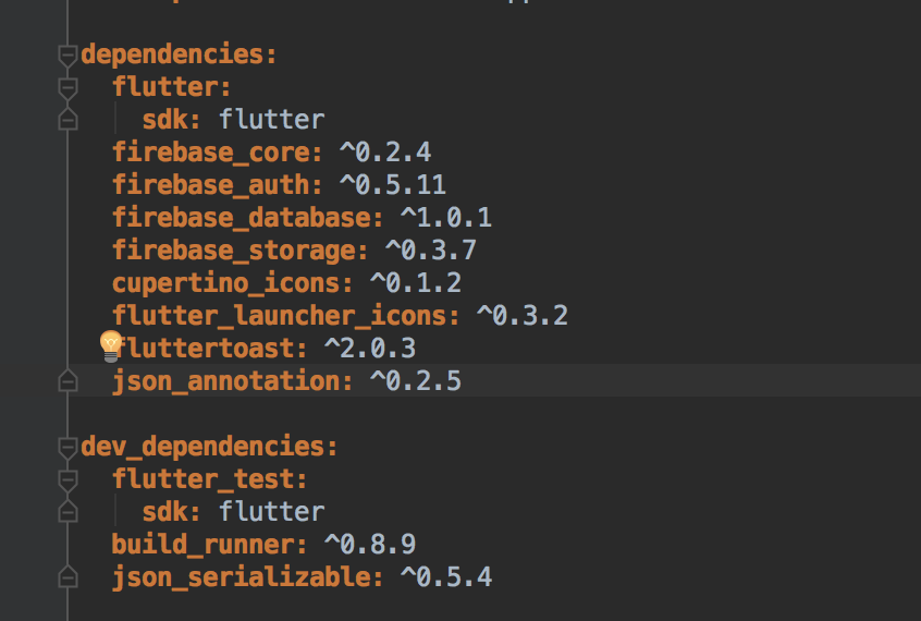 flutter_test from sdk is incompatible with json_serializable