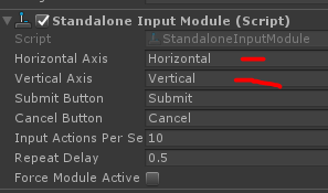 Scroll Rect not working with Standalone Input Module · Issue