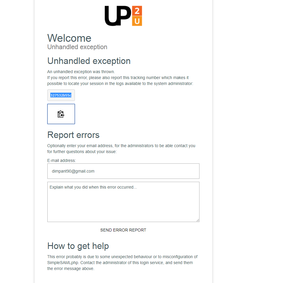 SSO learn test up2university from gmail doesn't work · Issue #29