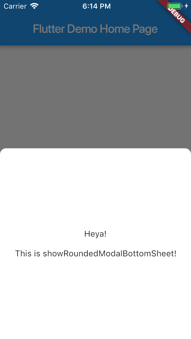 rounded_modal | Flutter Package