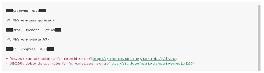 Asterisks in code blocks being rendered as blocks · Issue