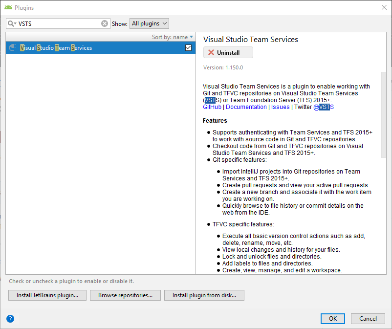 Azure DevOps Services Plugin for Android Studio · Issue #1883
