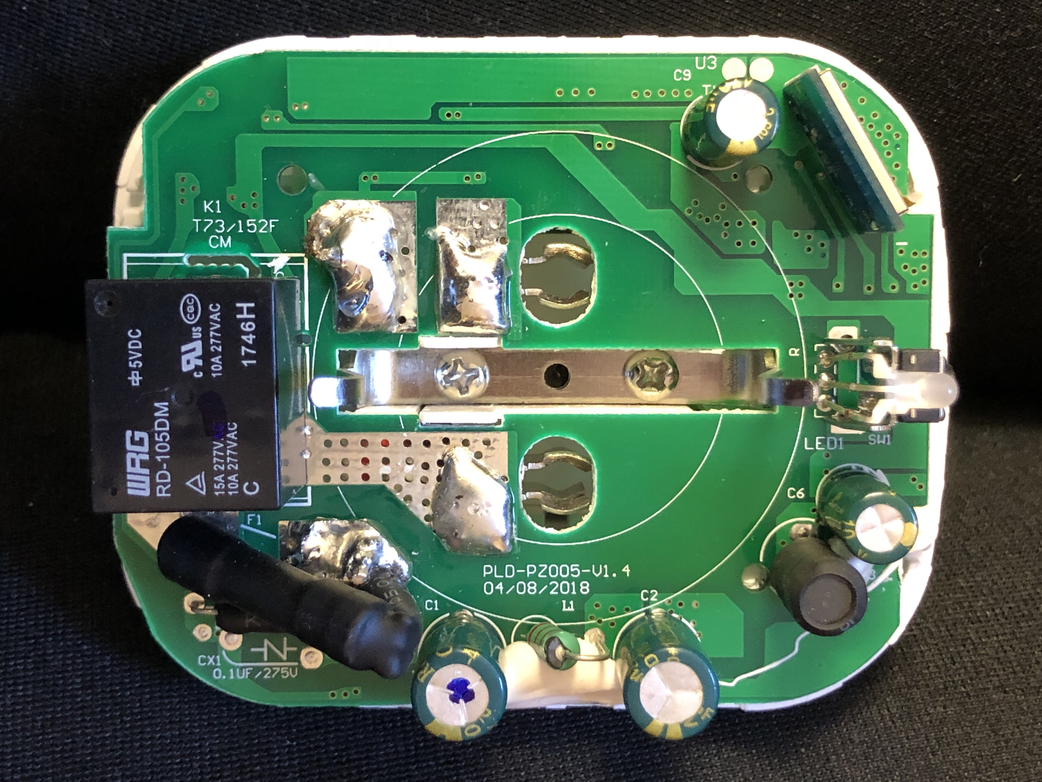 New Hardware Teckin Sp22 V14 Issue 3950 Arendst Sonoff Tasmota Possibly Related To Quotsimple Ac Light Bulb Flasherquot Circuits Img 7789