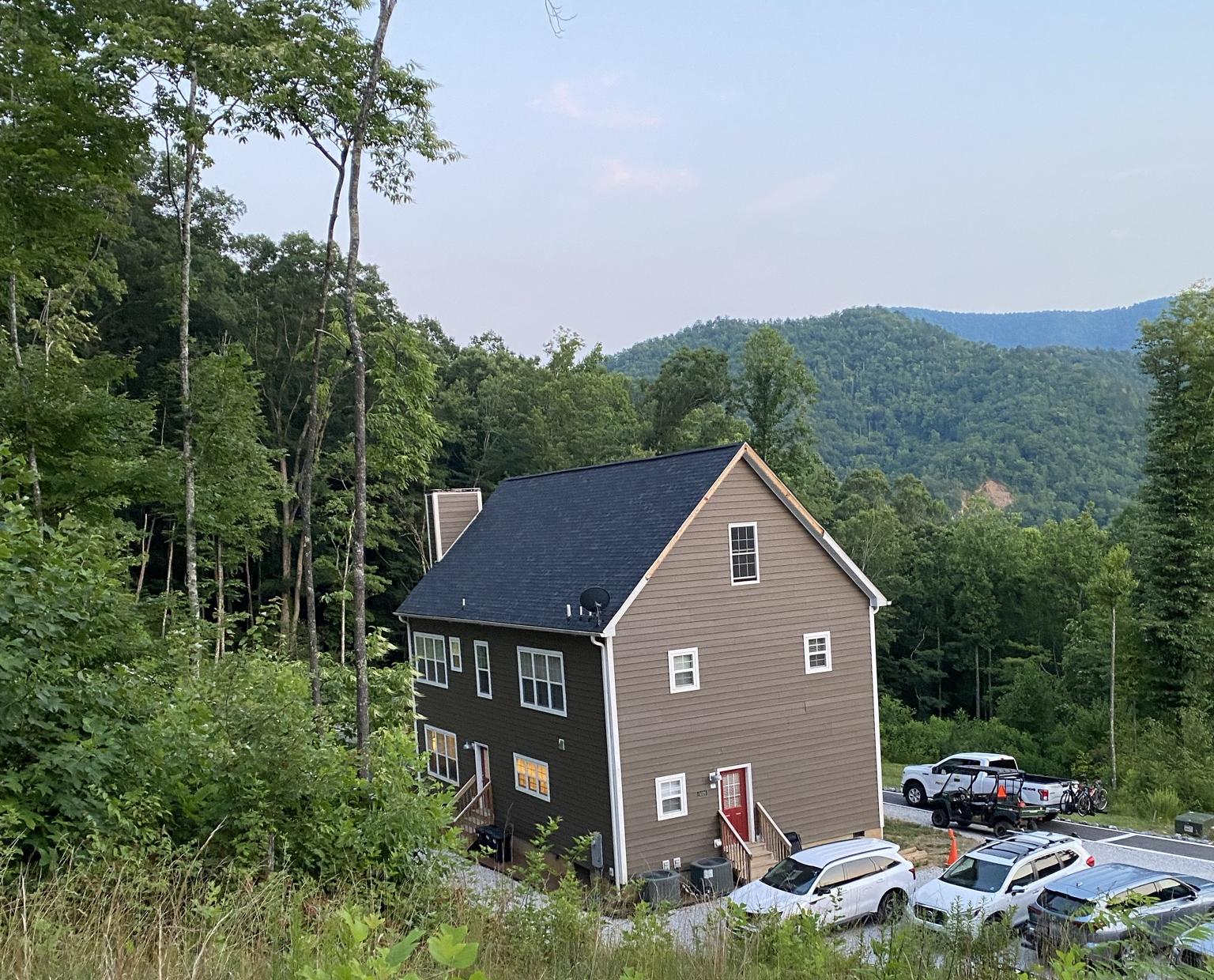 Vista da casa que ficamos hospedados durante o training camp.
