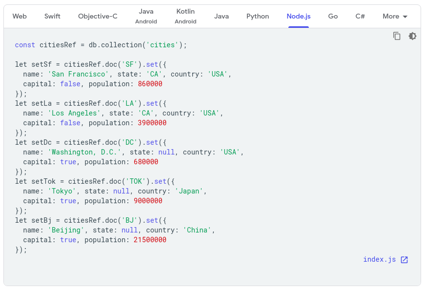 Syntax highlighting not working correctly · Issue #47 · firebase