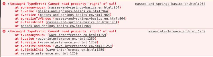 PHeT simulations throwing uncaught JS errors · Issue #1002