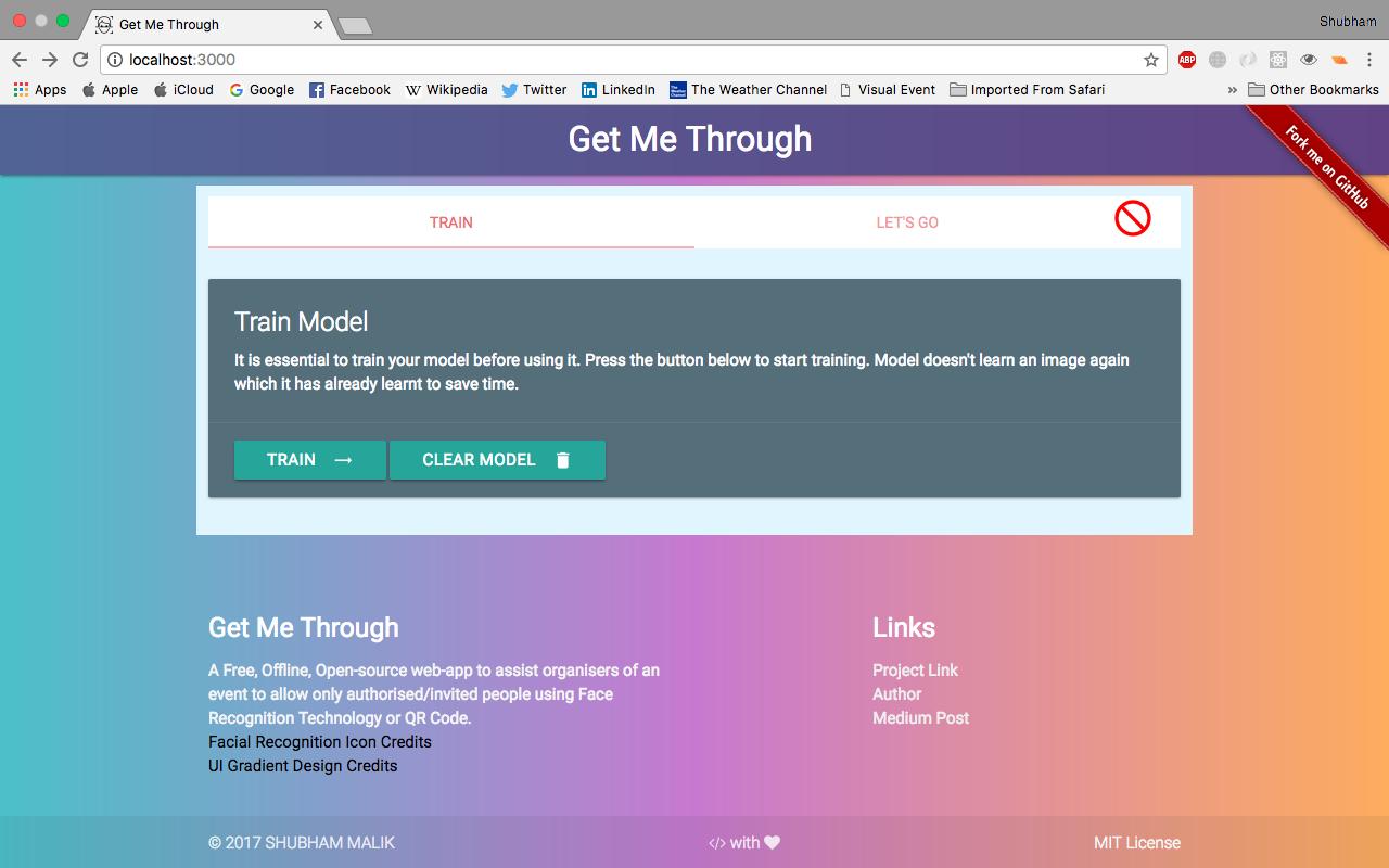 GitHub - malikshubham827/get-me-through: A Free, Offline
