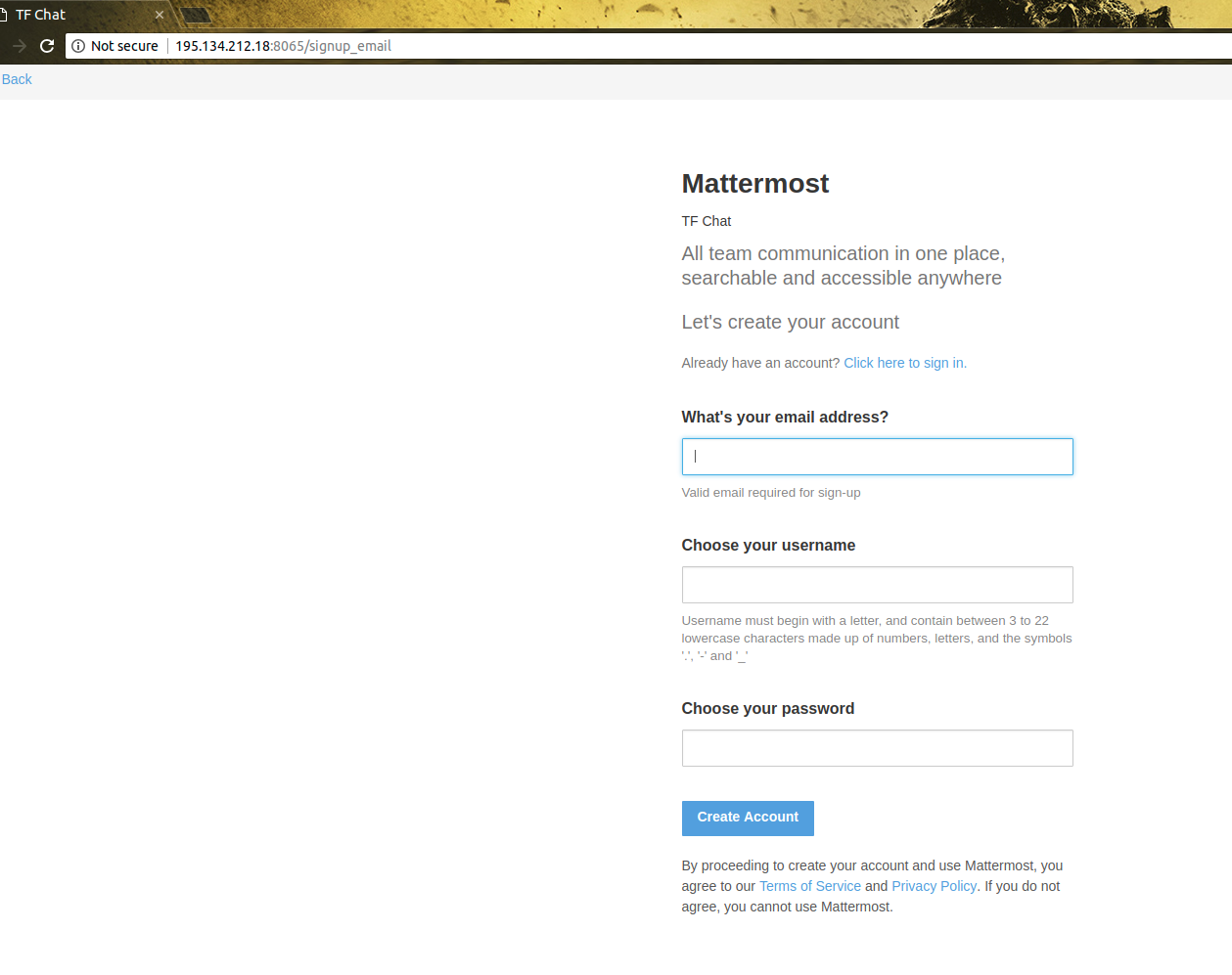 can't install mattermost · Issue #8 · threefoldtech/jumpscale_prefab