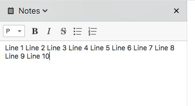 mac os x line breaks