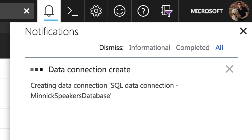 Data Connection Create