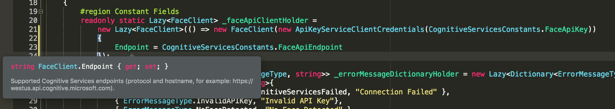 Inconsistent Nomenclature Between Azure Portal and SDKs