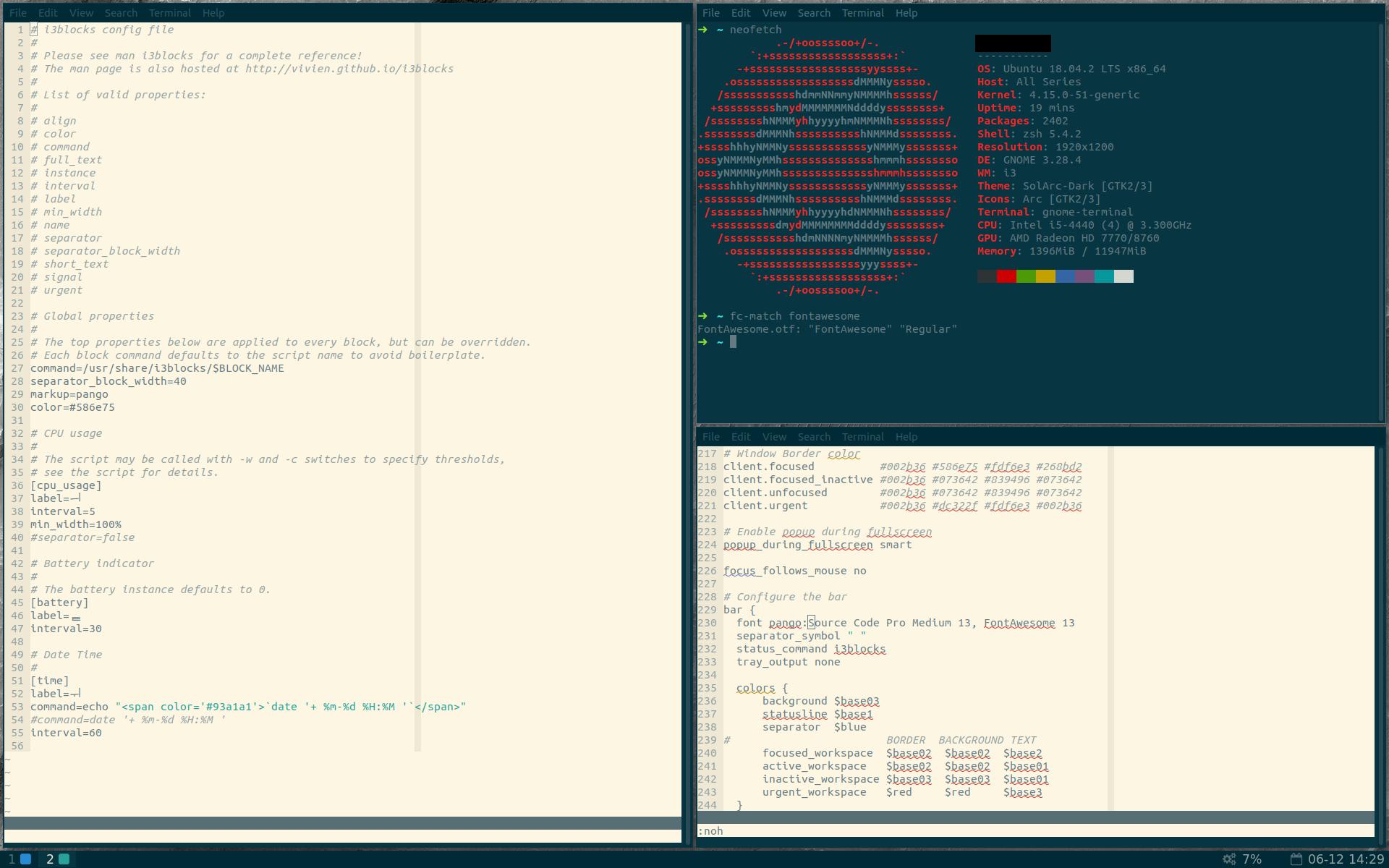 i3 bar icons malformed · Issue #1 · regolith-linux/regolith