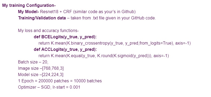 CRF implementation in Keras is not not giving good results · Issue