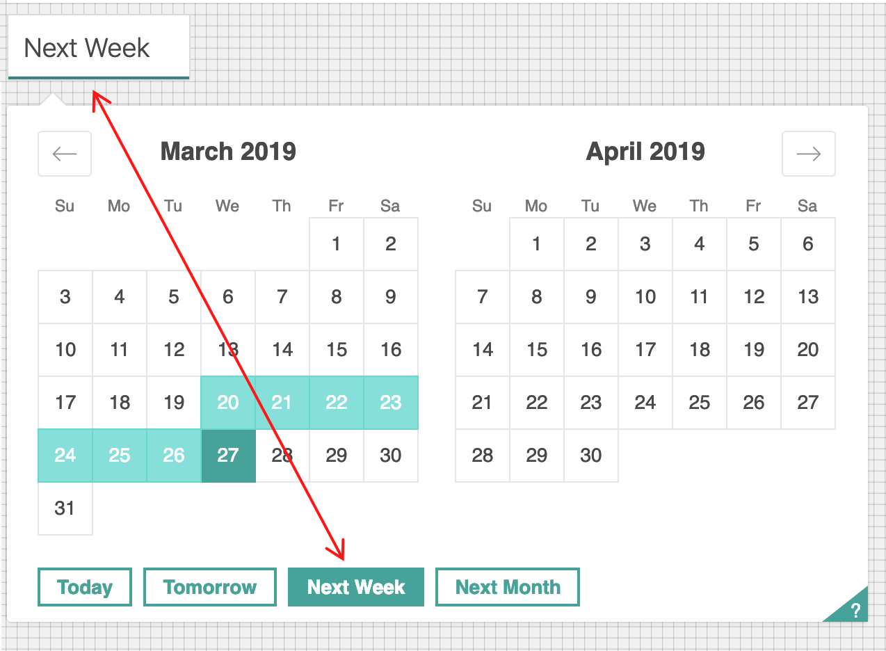 00c2ef834 ... instead of the actual start and end dates. Screenshot 2019-03-20 at 08  43 24