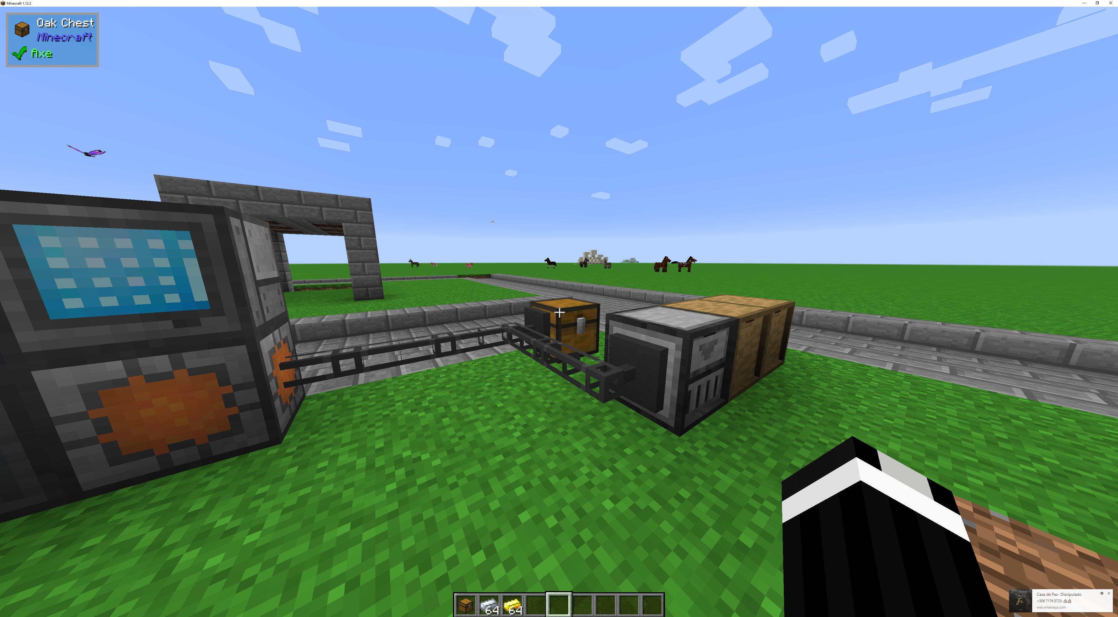 minecraft drawer controller