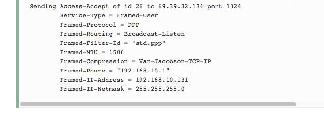 openvpn: Respect the radius Framed-IP-Address attribute for