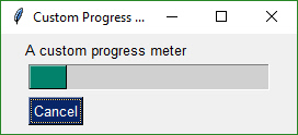 custom progress meter